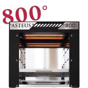 Asteus -black Willy- 800 Grad Infrarot Elektro Grill