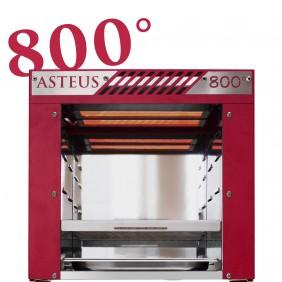 Asteus red Willy- 800 Grad Infrarot Elektro Grill