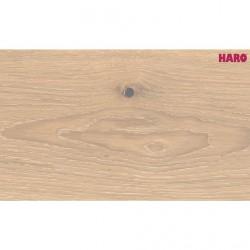 HARO Parkett Serie 4000 LD Eiche salinweiß gekalkt Sauvage strukturiert 2V, naturmatt versiegelt