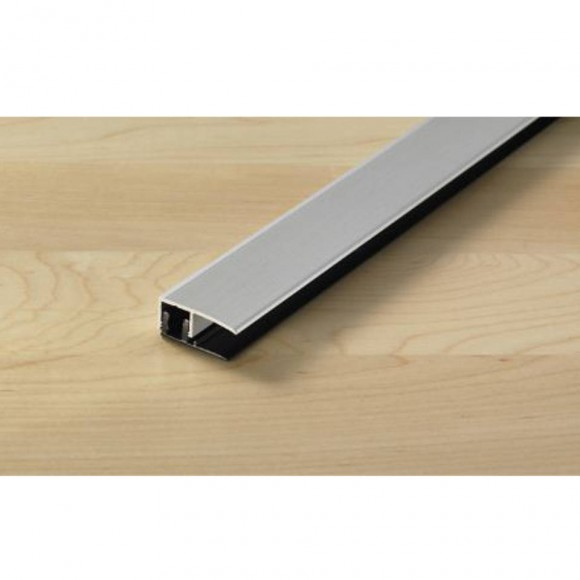 Proline Procoverclip Universal Abschlussprofil Aluminium Silber