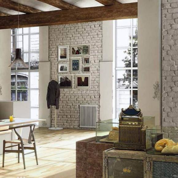 loft mit beton und klinker einrichtung, stoneslikestones steinpaneel ladrillo loft sucio 328 | mein, Design ideen