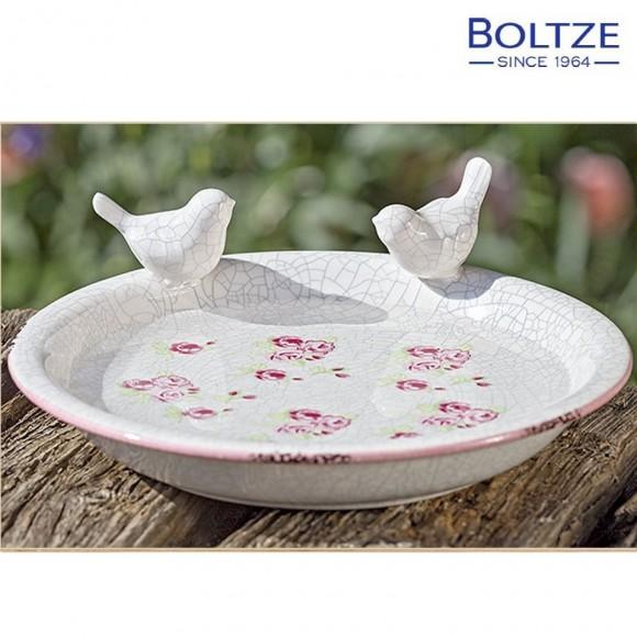 Boltze Vogeltränke ROSIE rosa | mein-wohndesign24.de