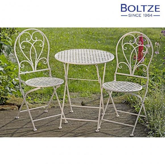Boltze Tisch-Set FEMKE 1 Tisch 2 Stühle | mein-wohndesign24.de