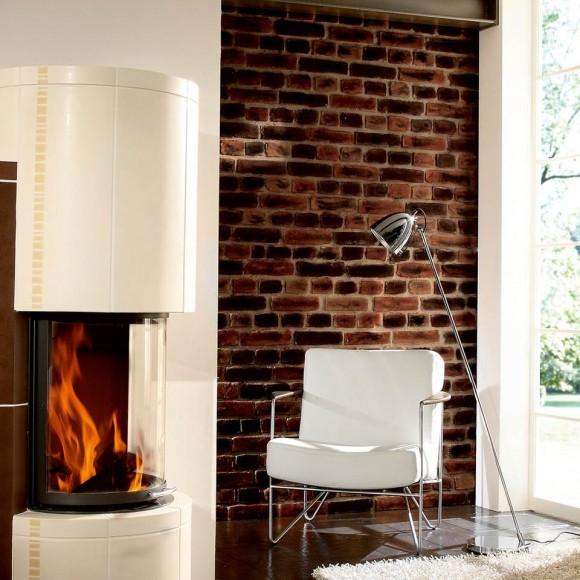 loft mit beton und klinker einrichtung, stoneslikestones steinpaneel ladrillo loft classic 232 | mein, Design ideen