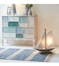 Tischleuchte SEGELBOOT im Maritim-Look