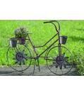 Boltze Pflanztopf Fahrrad BARNY aus Eisen Länge 95 cm