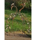 Boltze Aufsteller  Gartenfigur REIHER 2-tlg. Set, Höhe 106 cm