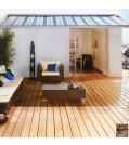 OSMO Terrassendiele mit System RESTPOSTEN  Garapa glatt oder französisch