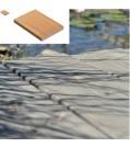 OSMO Terrassendiele europ. Lärche Wave / glatt