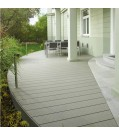 Terrassendiele UPM ProFi Design Deck-Silbergrün