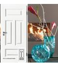 Innentüre Stiltüre FINESSE 41  Weisslack 9010-mit 3 Lichtausschnitten