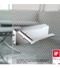 GRIFFWERK Ganzglastürbeschlagset GATE SIEGER DESIGN-Edelstahl poliert