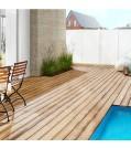 OSMO Terrassendiele Thermoholz Kiefer-geriffelt/glatt