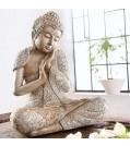 Dekofigur Buddha RELAX aus Kunststein