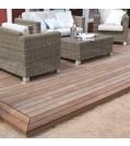 OSMO Terrassendiele Thermoholz Esche -glatt / glatt für SenoFix, 64642100 Ambiente