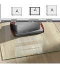 Haas+Sohn Unterlegsplatte Klarglas ESG mit polierten Kanten