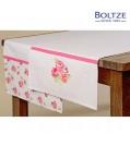 Boltze Tischläufer ROSIE Baumwolle rosa Länge 140 cm