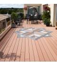 Terrassendiele UPM ProFi Design Deck-Herbstbraun
