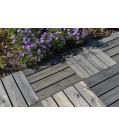 OSMO Holzrost LUND Grau / Oberfläche gebürstet