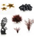 biOrb Aquarium Dekoration - Rot & Schwarz- für Serie LIFE