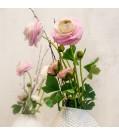 MICA Kunstpflanze Ranuculus in Rosa