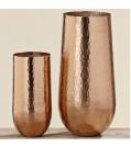 Boltze Vase RANU 2-tlg. aus Aluminium