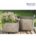 Boltze Pflanztopf ENIGMA 2-tlg. Set Länge 22-25 cm