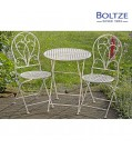 Boltze Tisch-Set FEMKE 1 Tisch 2 Stühle