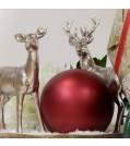 Engels Kerzen Kugelkerze Weihnachtstraum -gegossene und lackierte Kerze
