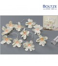 Boltze LED-Lichterkette FLOWERS Länge 160 cm