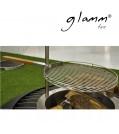 glammfire Grillrost aus Edelstahl mit Holzgriff