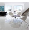ELESGOfloor Laminatboden Superglanz Color white mit Rundkante