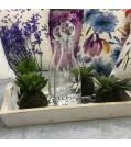 MICA Kunstpflanze SUKKULENT 4-tlg. Ø 11 cm