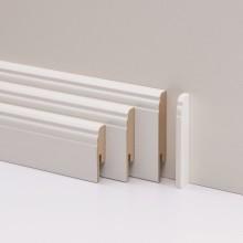 PARADOR Abschlusskappen Typ 2 für Steckfußleiste HL 1/2/3 weiß