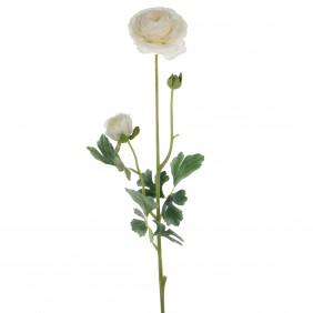 MICA Kunstpflanze Ranuculus in Weiß