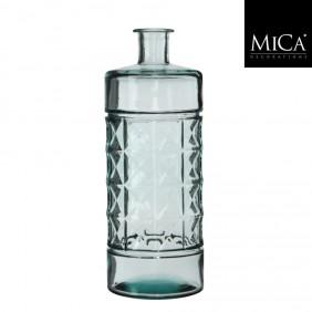 MICA Vase / Flasche GUAN DIAMOND in transparent Ø 15 cm