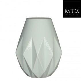 MICA Vase GEM in mintgrün Ø 23 cm