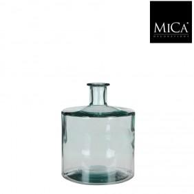 MICA Vase / Flasche GUANA transparent Ø 21 cm