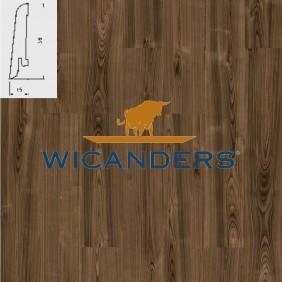 WICANDERS Steckfußleiste Amerikanisch Walnuss Prime