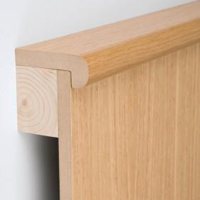 MeisterWerke Abdeckleiste Ahorn-Woodlook 194-Holznachbildung