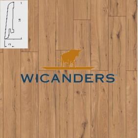 WICANDERS Steckfußleiste. Eiche Rustikal Prime