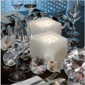 Engels Kerzen FINCA Kerzen Indoor eckig - Nr. 009 Elfenbein