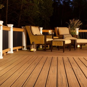 Terrassendiele UPM ProFi Classic Deck Lifecycle -Tigerwood