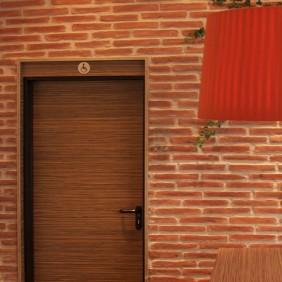 STONESlikeSTONES Steinpaneel LADRILLO Vertikale Rojo 101 (Bodenbeläge)