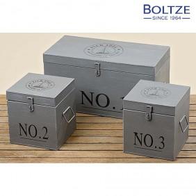 Boltze Box PIER 3-tlg. Set grau