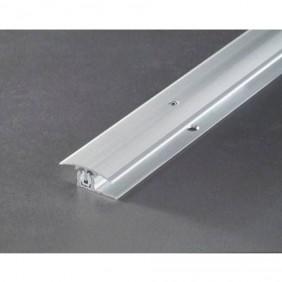 Provario Universal Übergansprofil Aluminium Silber/Champagner/Edelstahl, 100cm