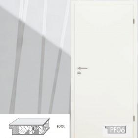 Innentüre Röhrenspanstreifen CPL Weiß 9010-Rundkante