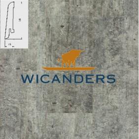WICANDERS Steckfußleiste Beton Ashen