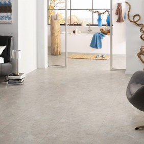 KWG Designvinyl ANTIGUA STONE Silverstone gefast-HYDROTEC