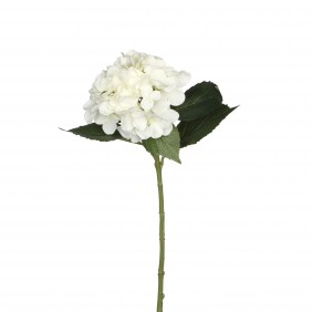 MICA Kunstpflanze Hortensien in Weiß